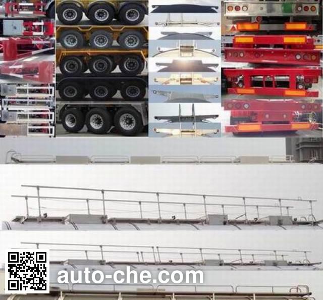 RJST Ruijiang WL9406GRY flammable liquid tank trailer