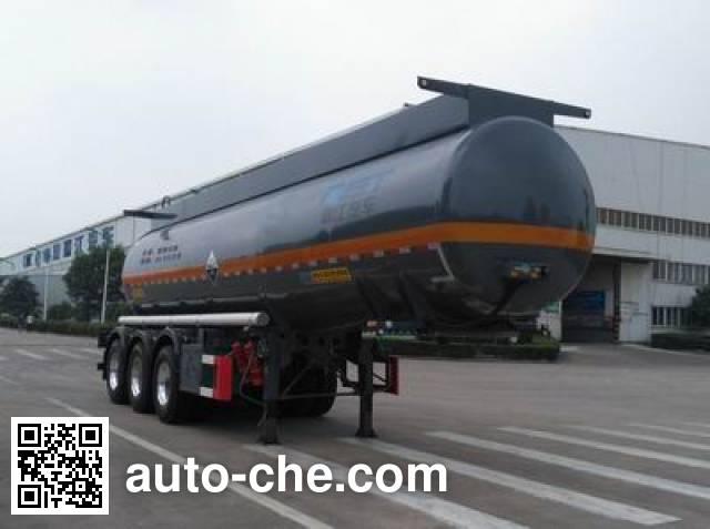 RJST Ruijiang WL9407GFWC corrosive materials transport tank trailer