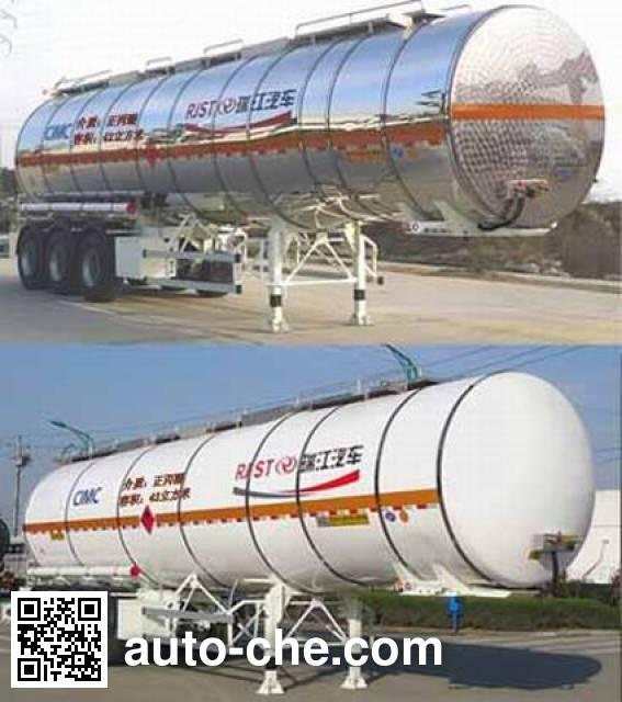 RJST Ruijiang WL9407GRYE flammable liquid tank trailer