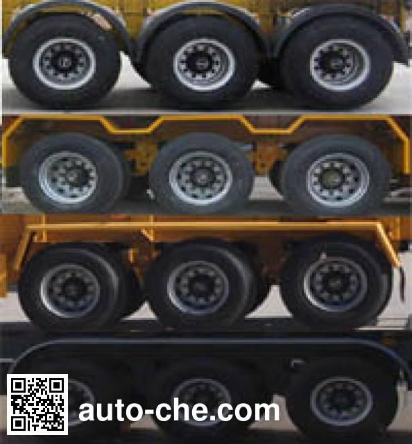 RJST Ruijiang WL9402GFW corrosive materials transport tank trailer