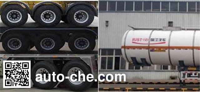 RJST Ruijiang WL9409GRYB flammable liquid tank trailer