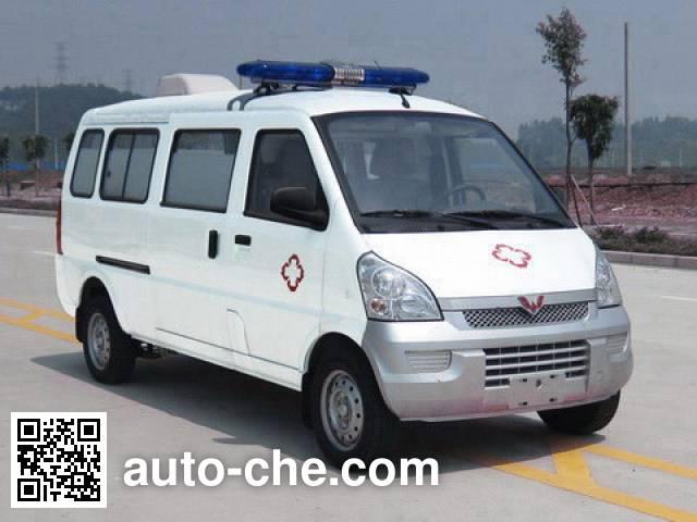 五菱牌WLQ5026XJHLBCY救护车