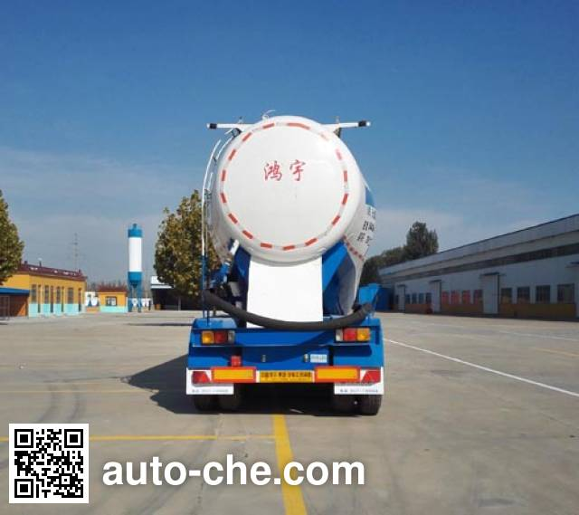 Hongyuda WMH9400GFL medium density bulk powder transport trailer