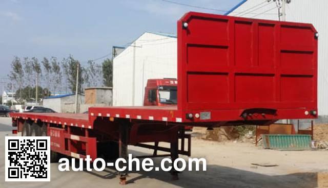 Yazhong Cheliang WPZ9400TPB flatbed trailer