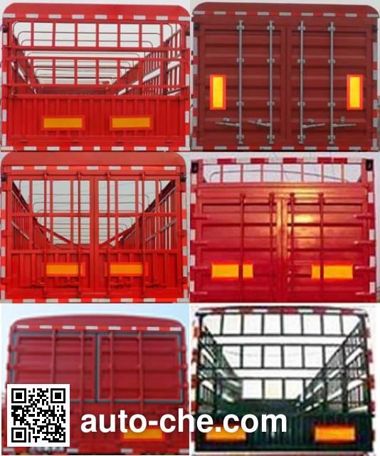 Sanwei WQY9380CCY stake trailer