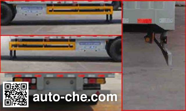 Sanwei WQY9400XXY box body van trailer
