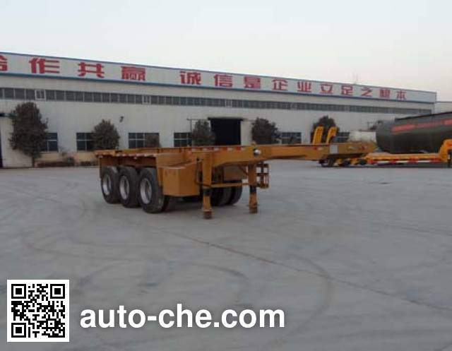 Sanwei WQY9402TJZ container transport trailer