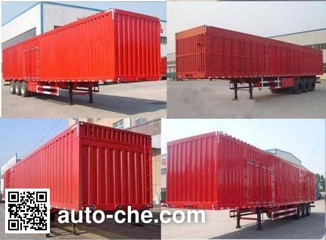 Sanwei WQY9403XXYZ box body van trailer