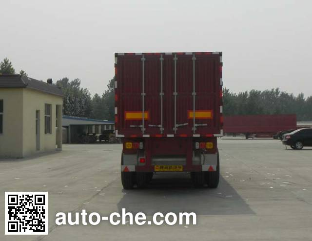 Sanwei WQY9401XXYZ box body van trailer