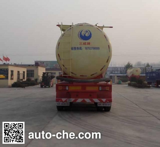 Sanwei WQY9406GFL medium density bulk powder transport trailer