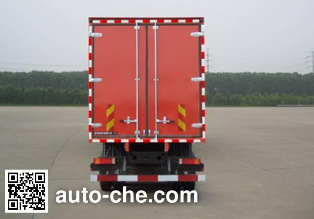东润牌WSH5311XXYAX10A厢式运输车