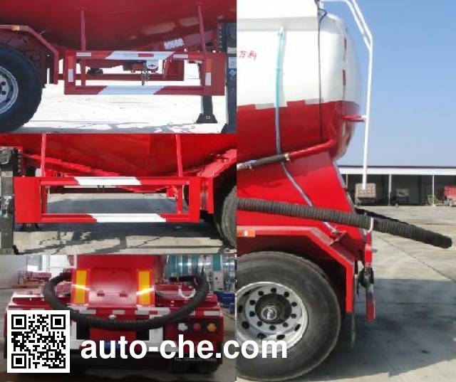 Dongrun WSH9402GXH ash transport trailer