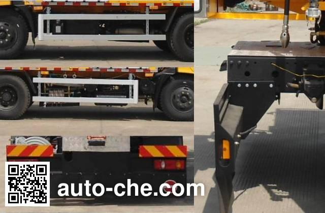 Weituorui WT5122GQX street sprinkler truck
