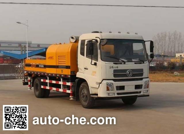 通華牌WTY5120THB车载式混凝土泵车