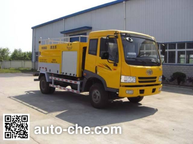 Wuhuan WX5080GQX street sprinkler truck