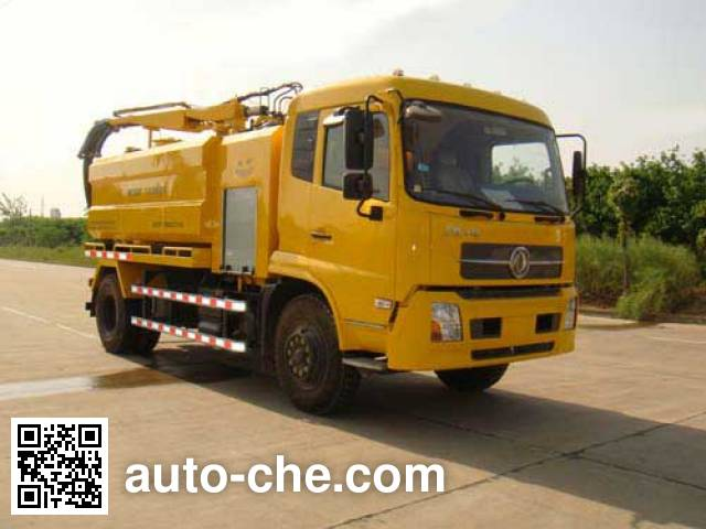 Wuhuan WX5161GQW sewer flusher and suction truck