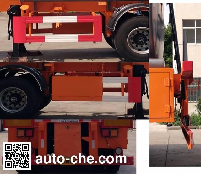 Xiyu WXQ9290GFW corrosive materials transport tank trailer