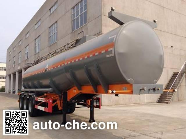 Xiyu WXQ9401GFW corrosive materials transport tank trailer