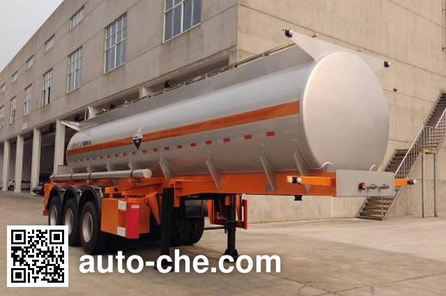 Xiyu WXQ9408GFW corrosive materials transport tank trailer