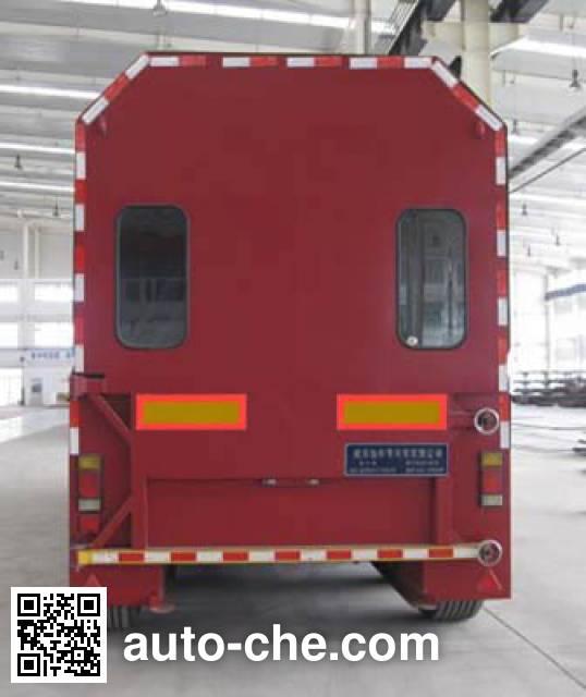 前兴牌WYH9290XBY玻璃运输半挂车