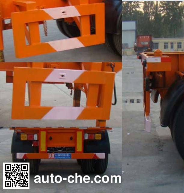 Qianxing WYH9340TJZ container transport trailer