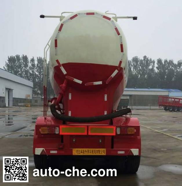 Weizheng Baiye WZB9400GFL medium density bulk powder transport trailer