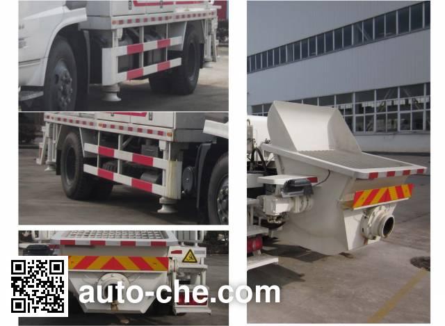 皇冠牌WZJ5120THB车载式混凝土泵车
