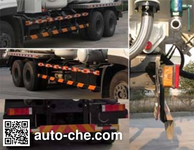 Huangguan WZJ5252GXY industrial vacuum truck
