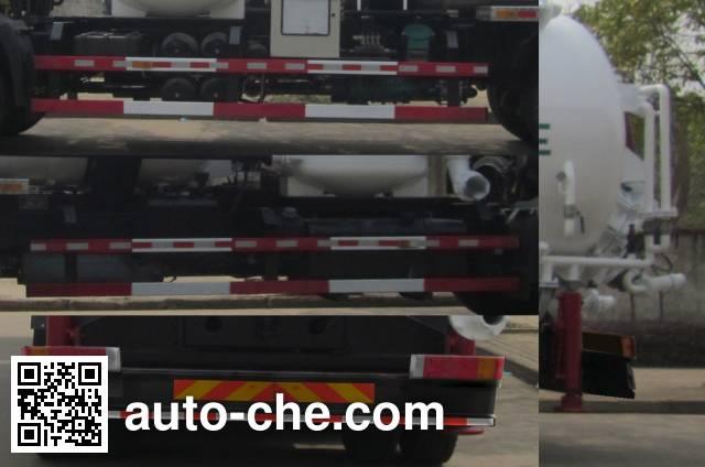 Huangguan WZJ5258GXY industrial vacuum truck