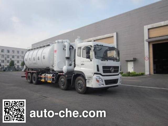 Huangguan WZJ5312GXY industrial vacuum truck