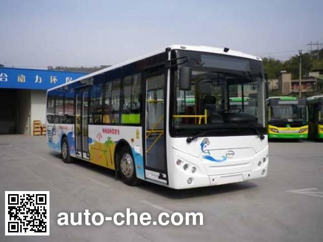五洲龙牌WZL6100EVG纯电动城市客车