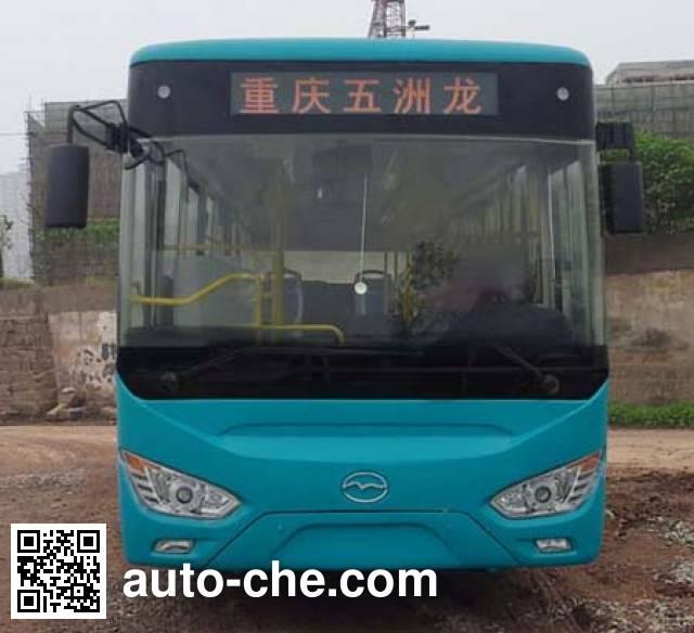 五洲龙牌WZL6100NG4城市客车