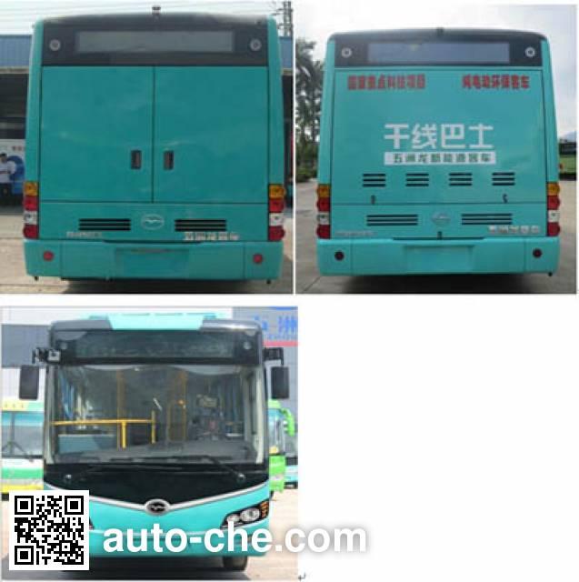 五洲龙牌WZL6106EVG1纯电动城市客车