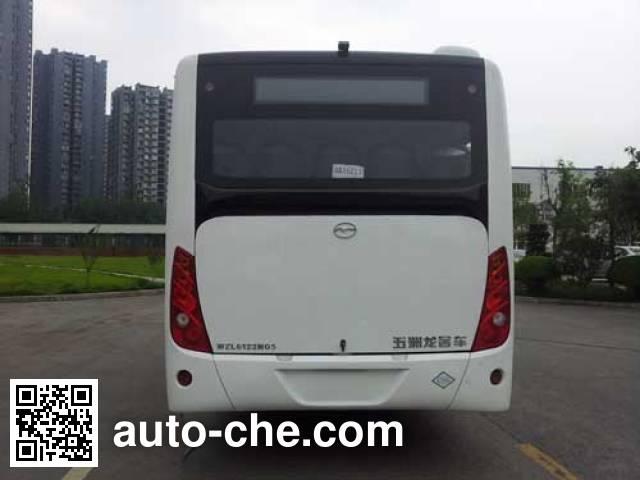 五洲龙牌WZL6122NG5城市客车