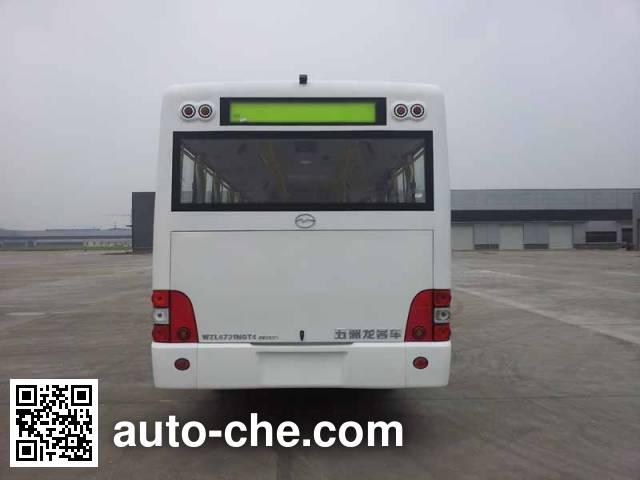 五洲龙牌WZL6731NGT4城市客车