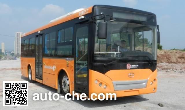 五洲龙牌WZL6852EVG2纯电动城市客车