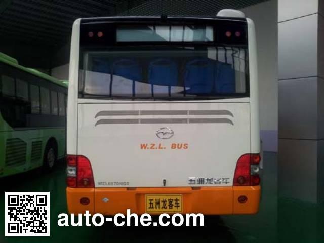 五洲龙牌WZL6870NG5城市客车