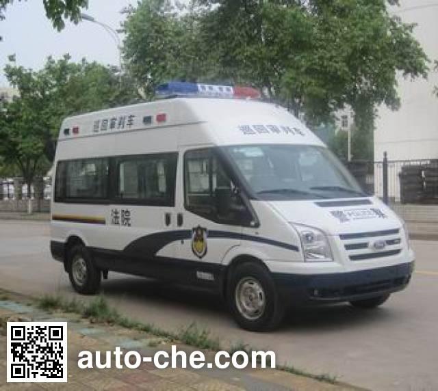 西北牌XB5033XSP-H4审判车
