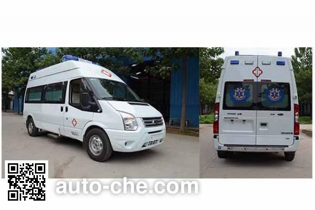 西北牌XB5040XJH5M救护车