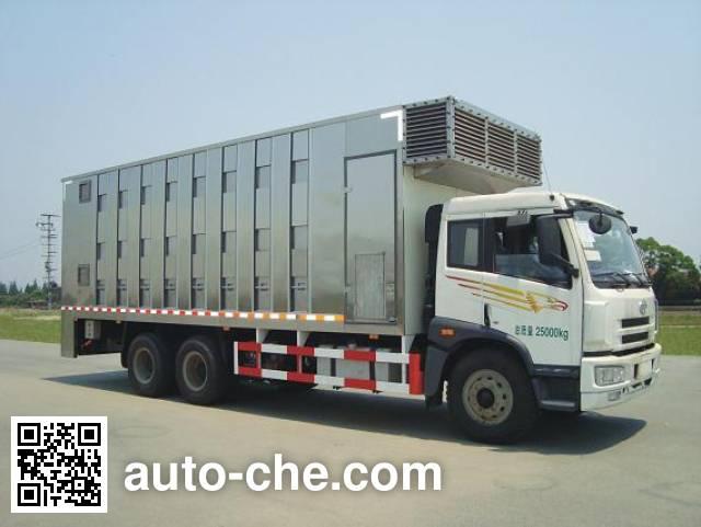 百勤牌XBQ5250XCQZ47畜禽运输车