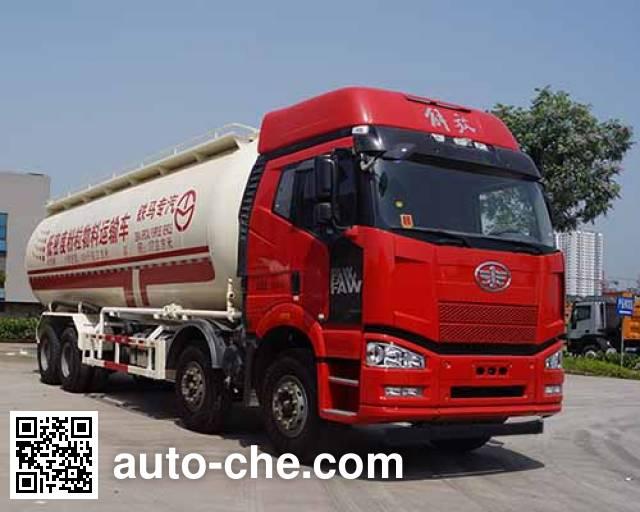 铁马牌XC5314GFLJA低密度粉粒物料运输车