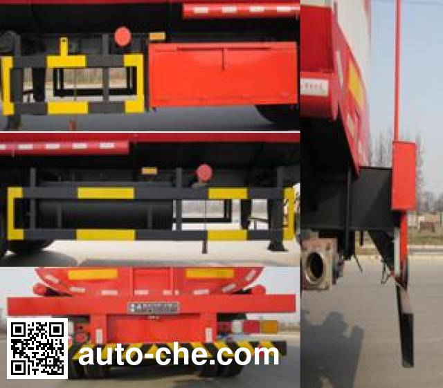 Xingniu XCG9402GSY edible oil transport tank trailer