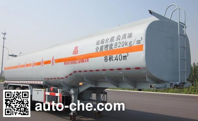 Xingniu XCG9403GSY edible oil transport tank trailer