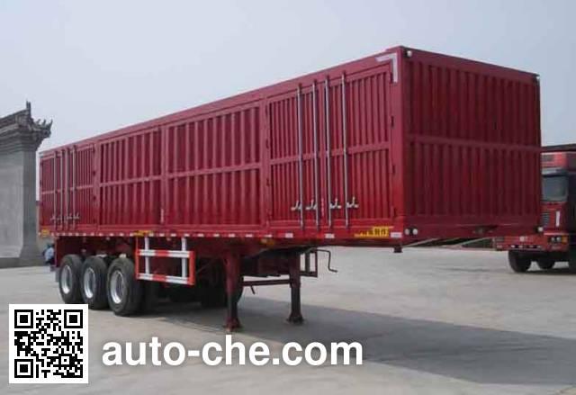Chengtai XCT9400XXY box body van trailer