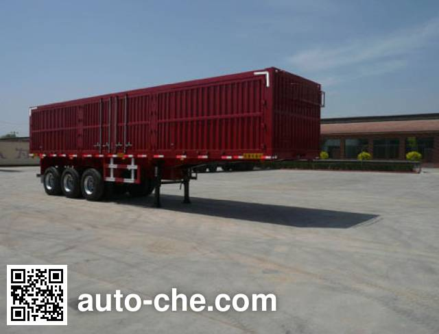 Chengtai XCT9401XXY box body van trailer