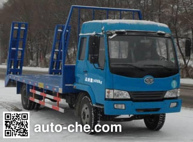 吉平雄风牌XF5163TPB平板运输车