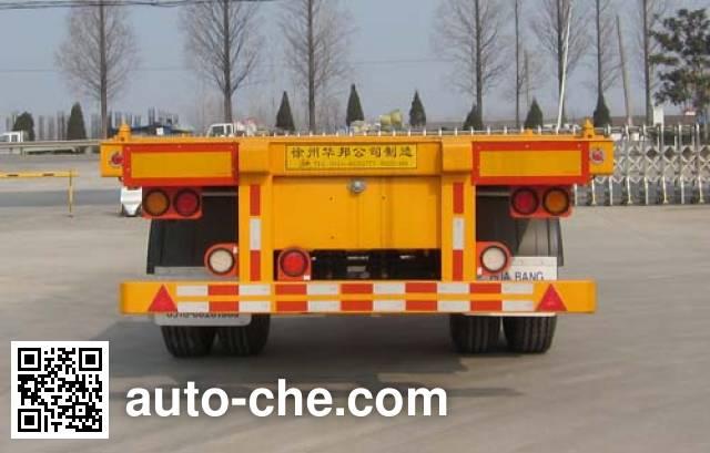 Guoshi Huabang XHB9150TJZ empty container transport trailer