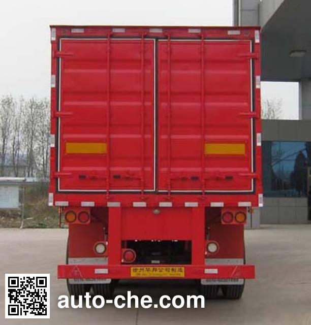 Guoshi Huabang XHB9400XXY box body van trailer