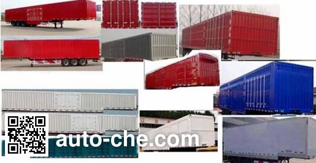 Guoshi Huabang XHB9400XXYE box body van trailer