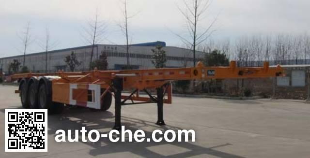 Guoshi Huabang XHB9405TJZ container transport trailer